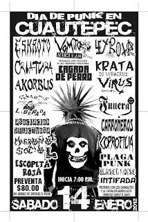 Dia del Punk en Cuatepec.