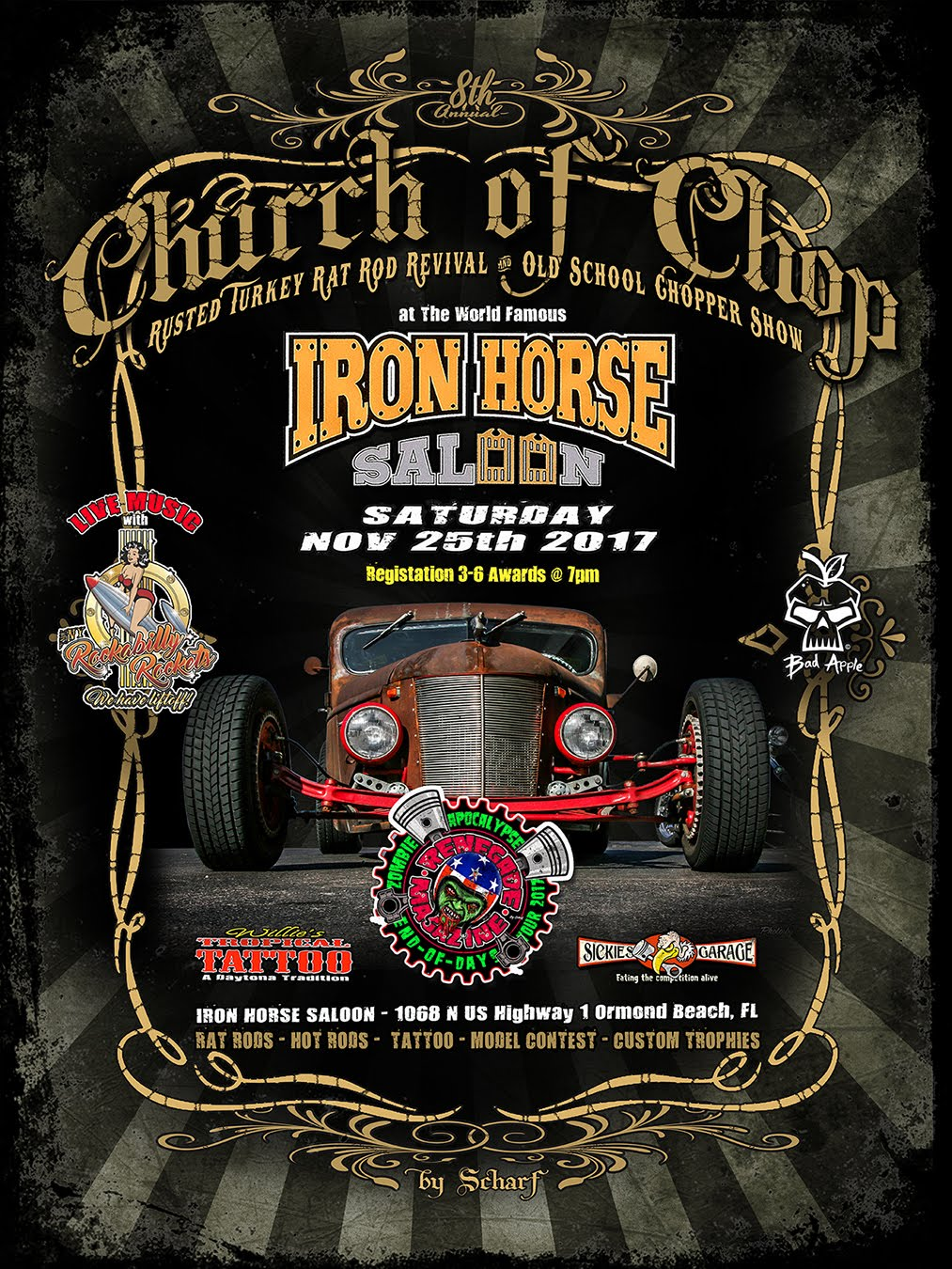 CHURCH OF CHOP RAT ROD REVIVAL