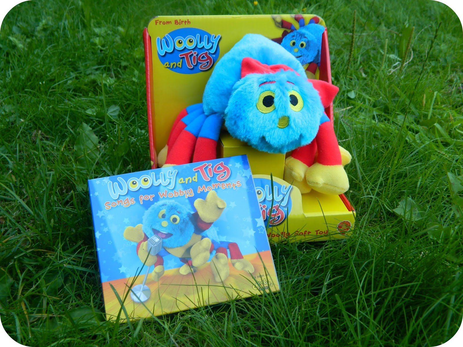 Woolly & Tig Songs for Wobbly Moments CD