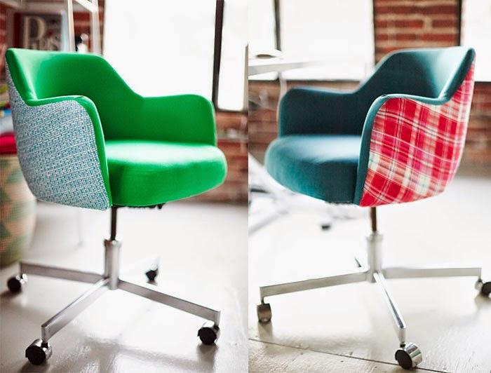 Sillas de oficina estilo vintage