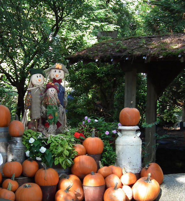 Pumpkins at Capilano Suspension Bridge