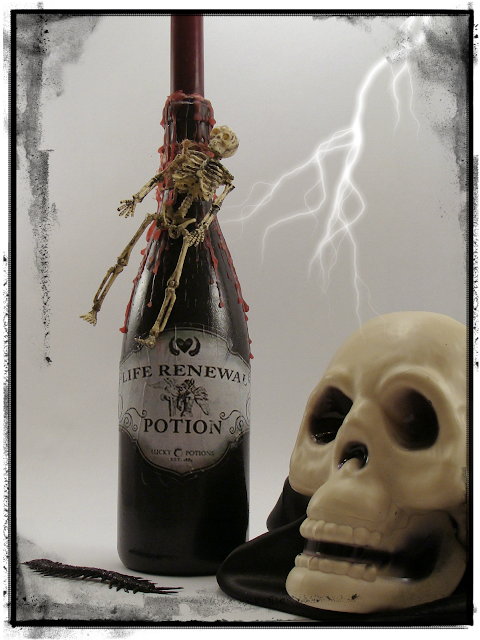 Halloween, Potion Bottle