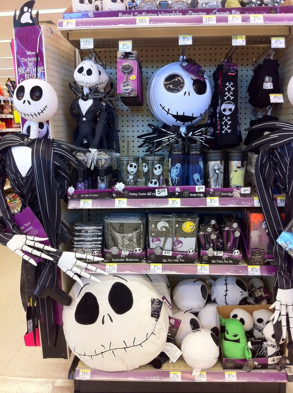 Nightmare Before Christmas At Walgreens | Christmas Decorating