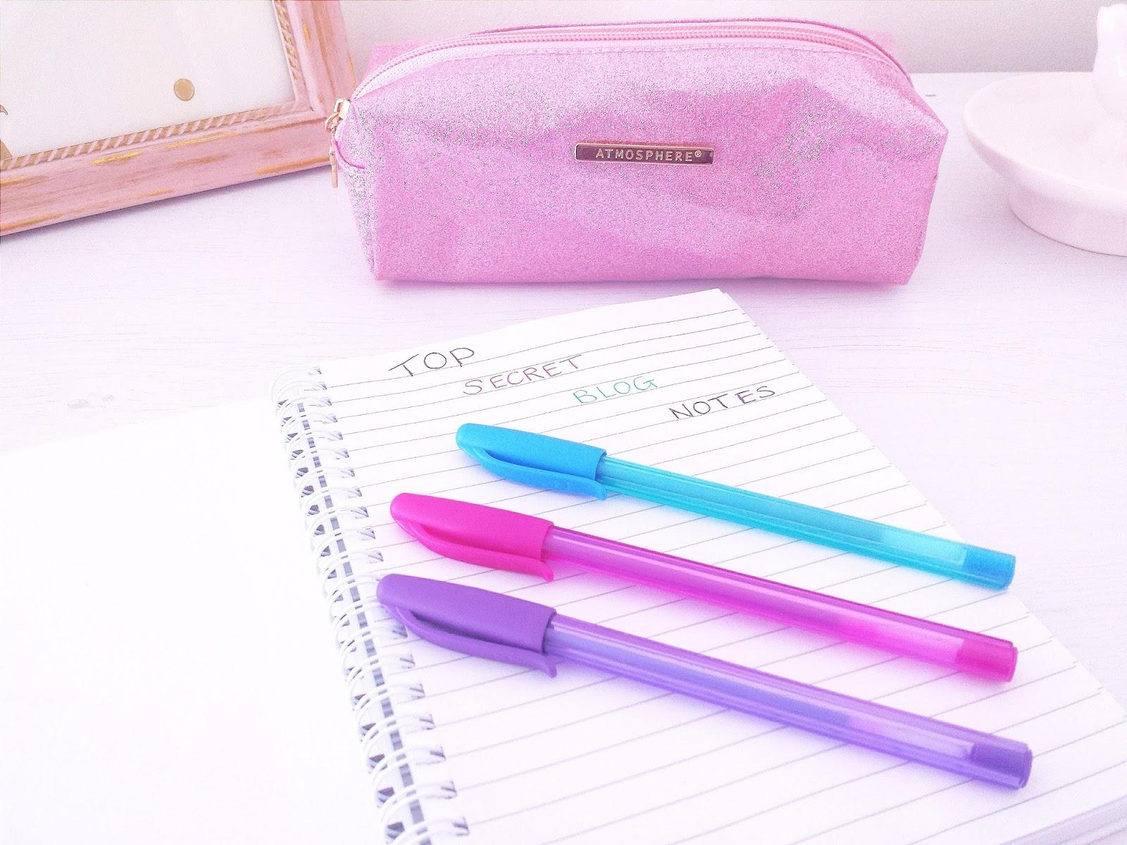 Getting Personal Personalised Blog Notebook