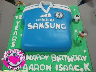Soccer Jersey Theme Cake