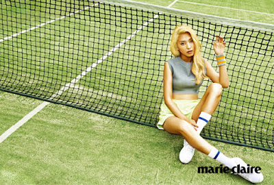 Bora SISTAR - Marie Claire Magazine May Issue 2015