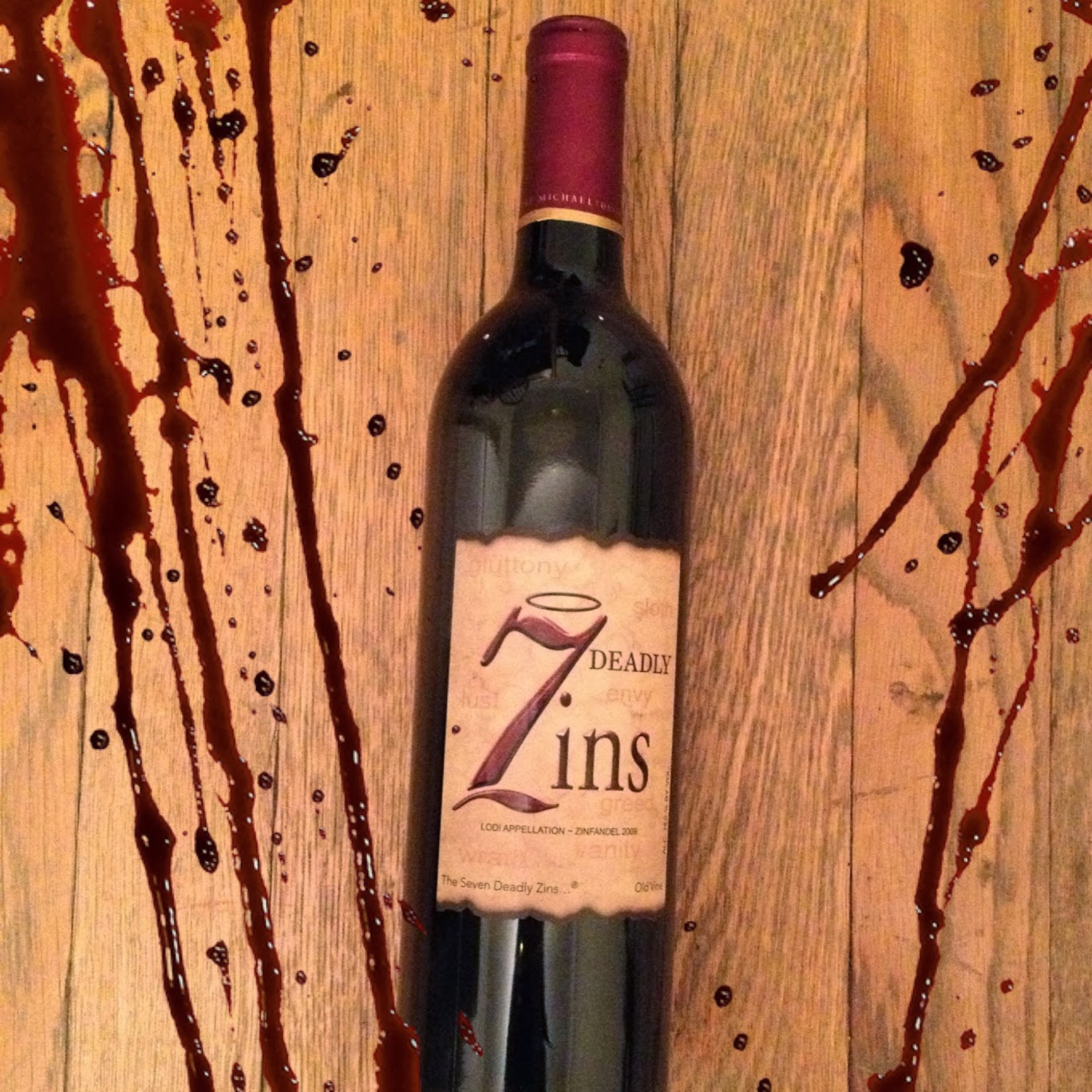 7 Deadly Sins Wine Glasses Livings As Easy As 312 Wine Of The Week 7 Deadly Zins