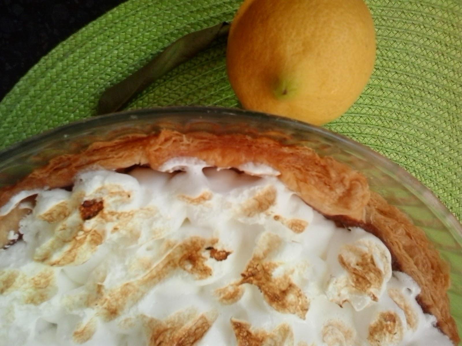 Hojaldre de Limón y Merengue