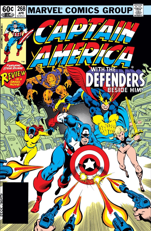 Captain America (1968) Issue #268 #183 - English 1
