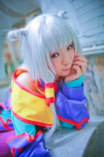 Code Geass Empress Tianzi cosplay by Kousaka Yun