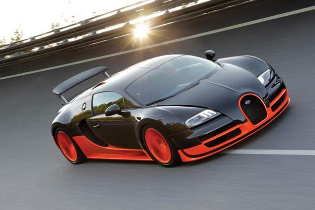 Mobil Termahal Didunia 01.Bugatti Veyron Supersport