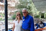 Disneyland's Matterhorn ~ Carlene Thie & Disney Legend Bob Gurr