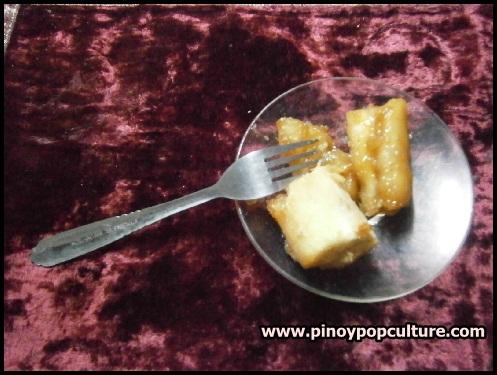 dessert, cassava, Manihot esculenta, kamoteng kahoy, minatamis