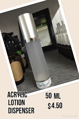 Acrylic Lotion Dispenser