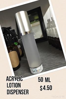 Acrylic Lotion Dispenser