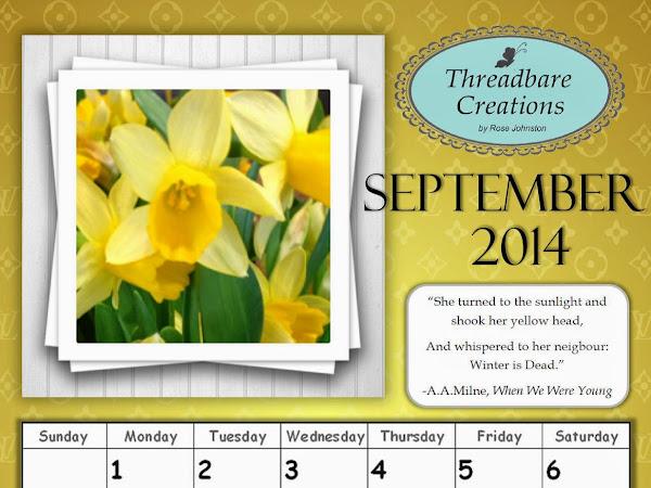 Free September Calendar