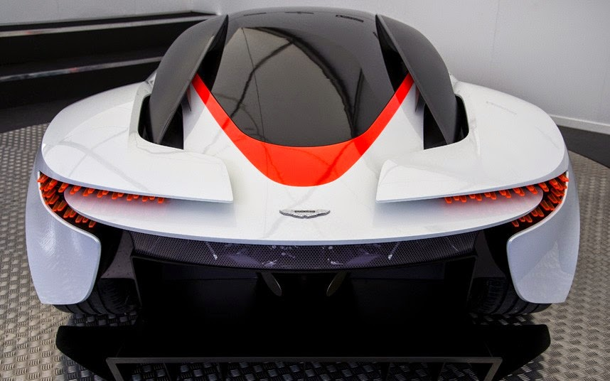 Aston Martin DP-100 Back View Image