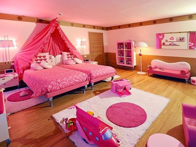 Girls Dream Bedrooms Gorgeous Girls Dream Bedroom  Home Design Review