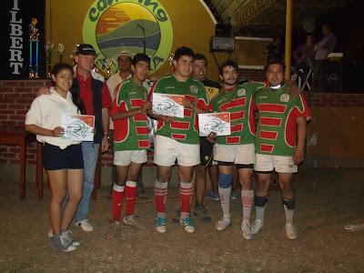 Encuentro de Rugby Desarrollo en Hipólito Yrigoyen