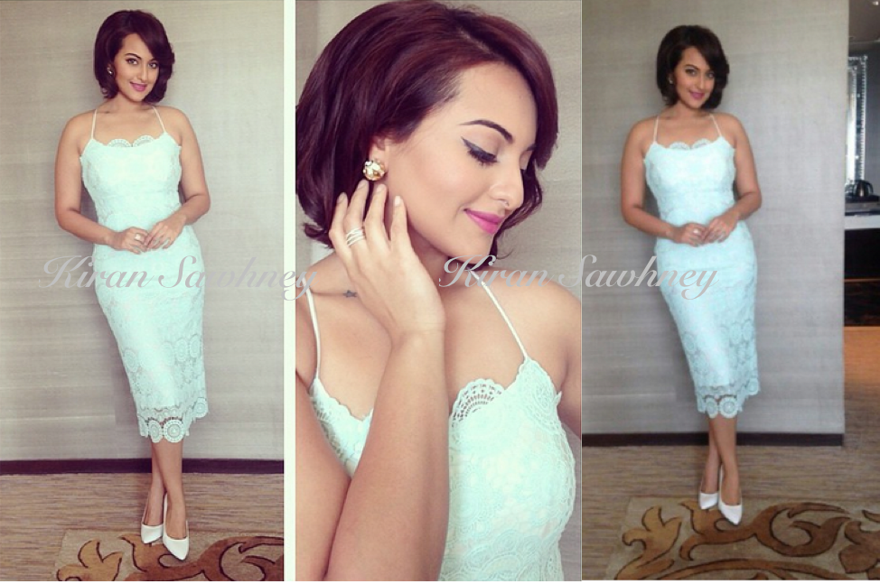 Sonakshi Sinha for BMW launch event