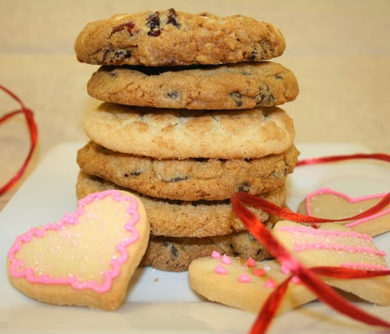 Homemade Cookies for Valentine's Day