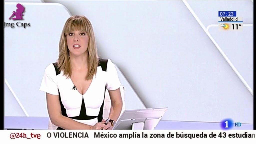 ANA IBAÑEZ, TELEDIARIO MATINAL (21.10.14)