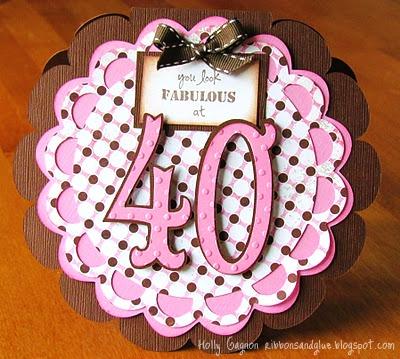 Fabulous at 40 Card