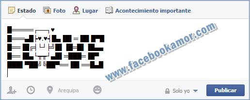 Smbolos de Amor para facebook  Imgenes Bonitas para Facebook