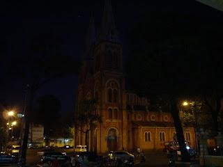 Catedral de Ho Chi Minh City (Saigon). Vietnã