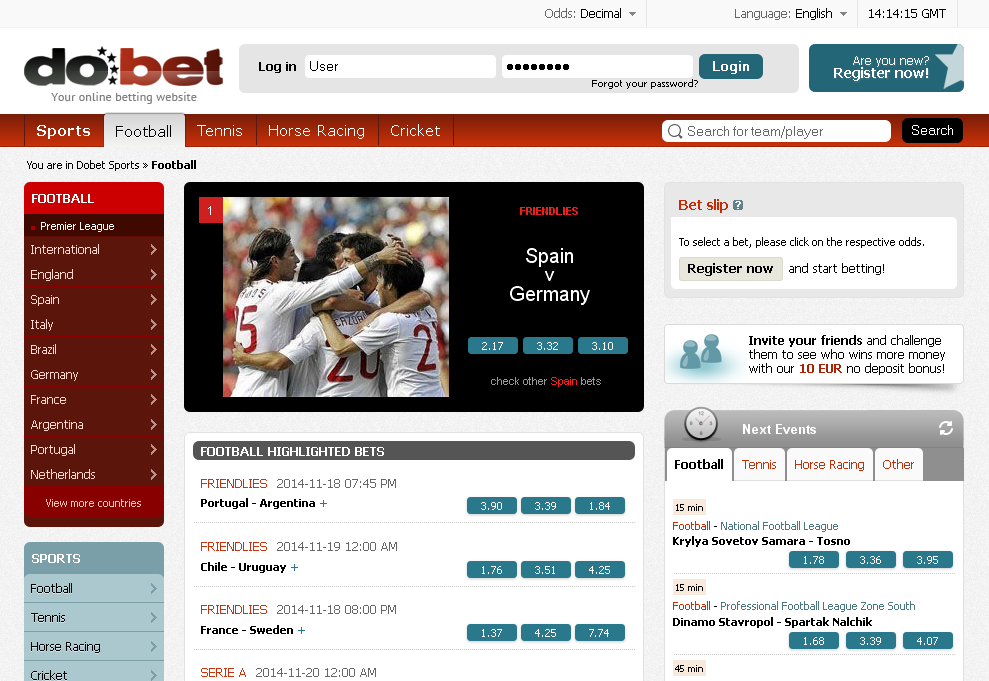 Best sport betting site in the world