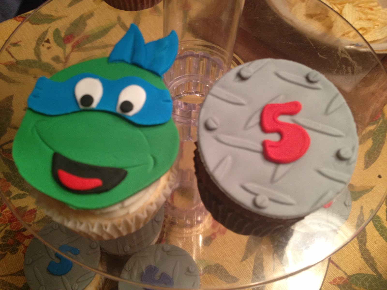 Ninja turtle cake template