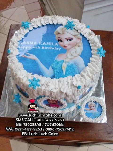 Kue Tart Frozen Edible Image Daerah Surabaya - Sidoarjo