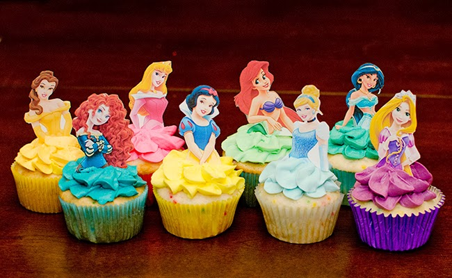 Princess Cupcake Images : Disney Princess Inspired Cupcakes images