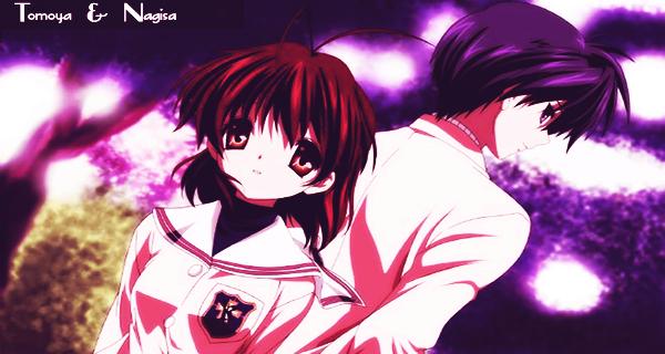 Tomoya and Nagisa