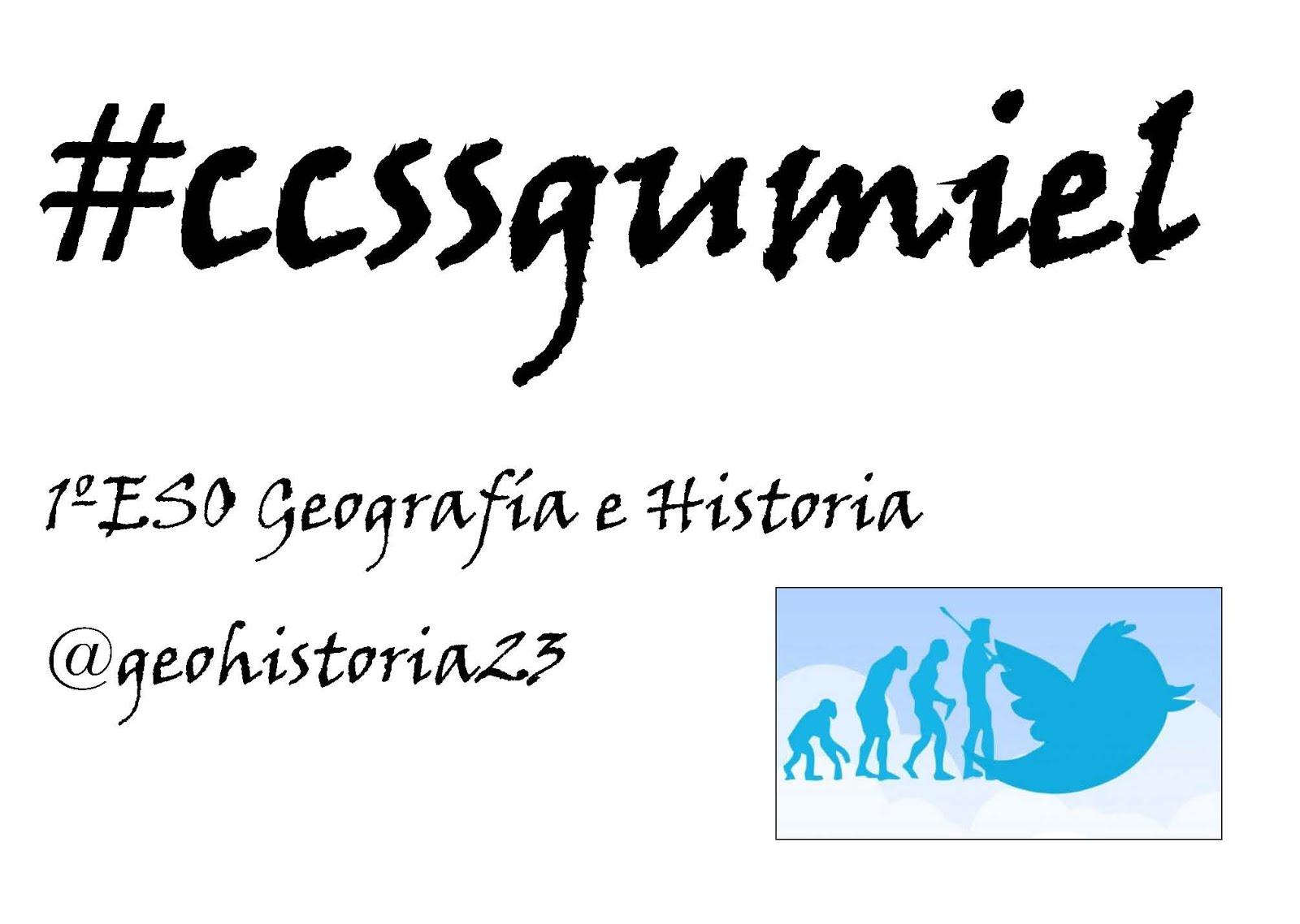 hashtag 1ºESO CCSS