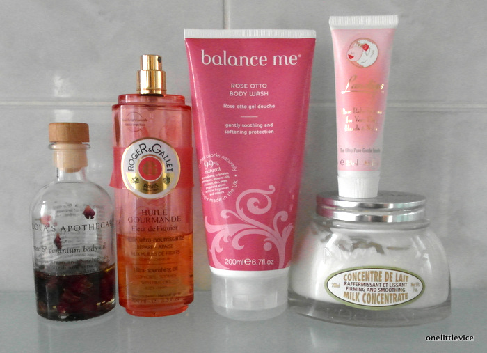 One Little Vice Beauty Blog: Blogger 2014 Bodycare Favourites