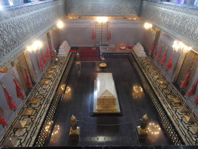 The Mausoleum of Mohammed V - Rabat, Morocco