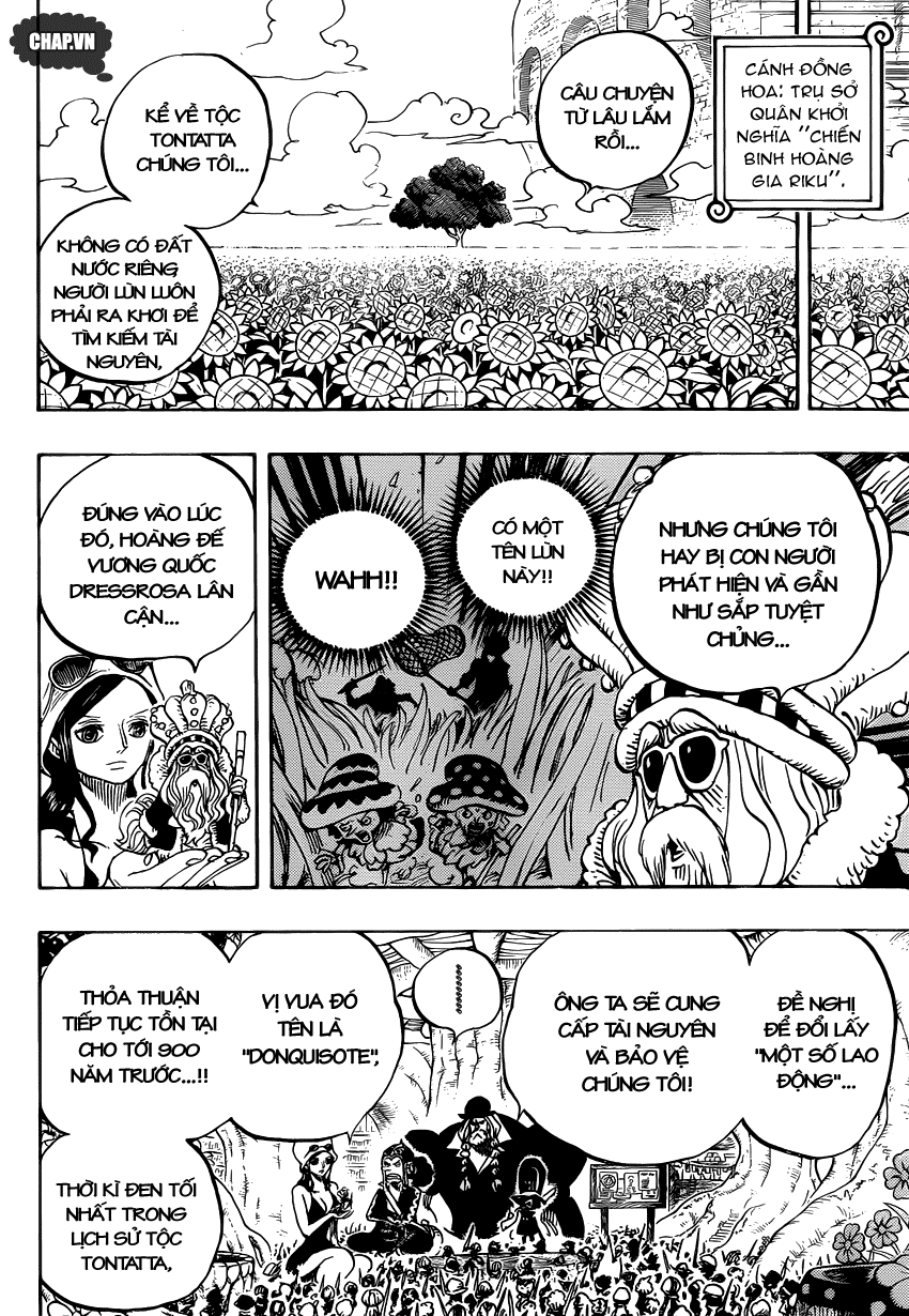 One Piece Chapter 726: Gia tộc Riku 014