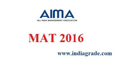 MAT 2016 Application Form