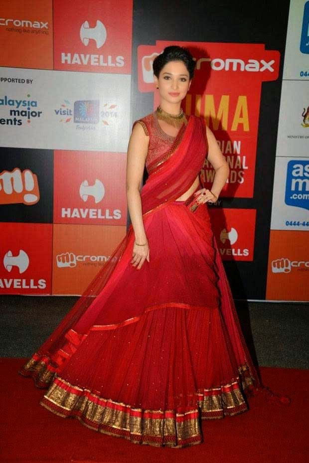 Tamannaah Bhatia At SIIMA Awards 2014