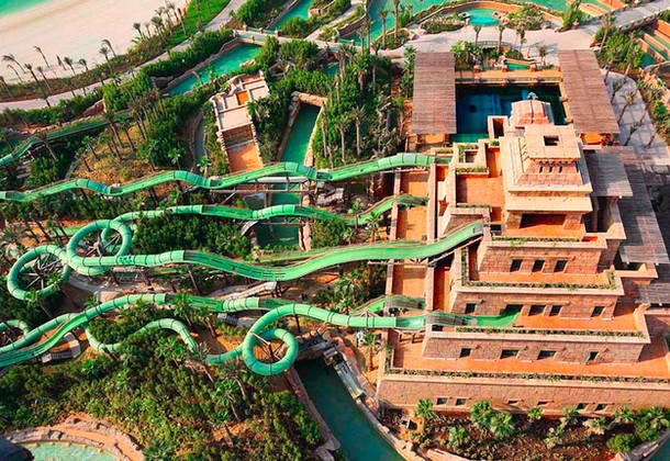 Master Blaster Water Coasters, Dubai