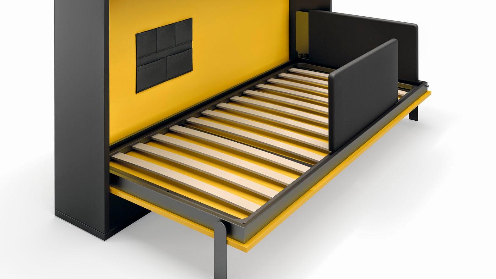 Cama abatible vertical disponible para medida de cama de - Camas abatibles madrid ...