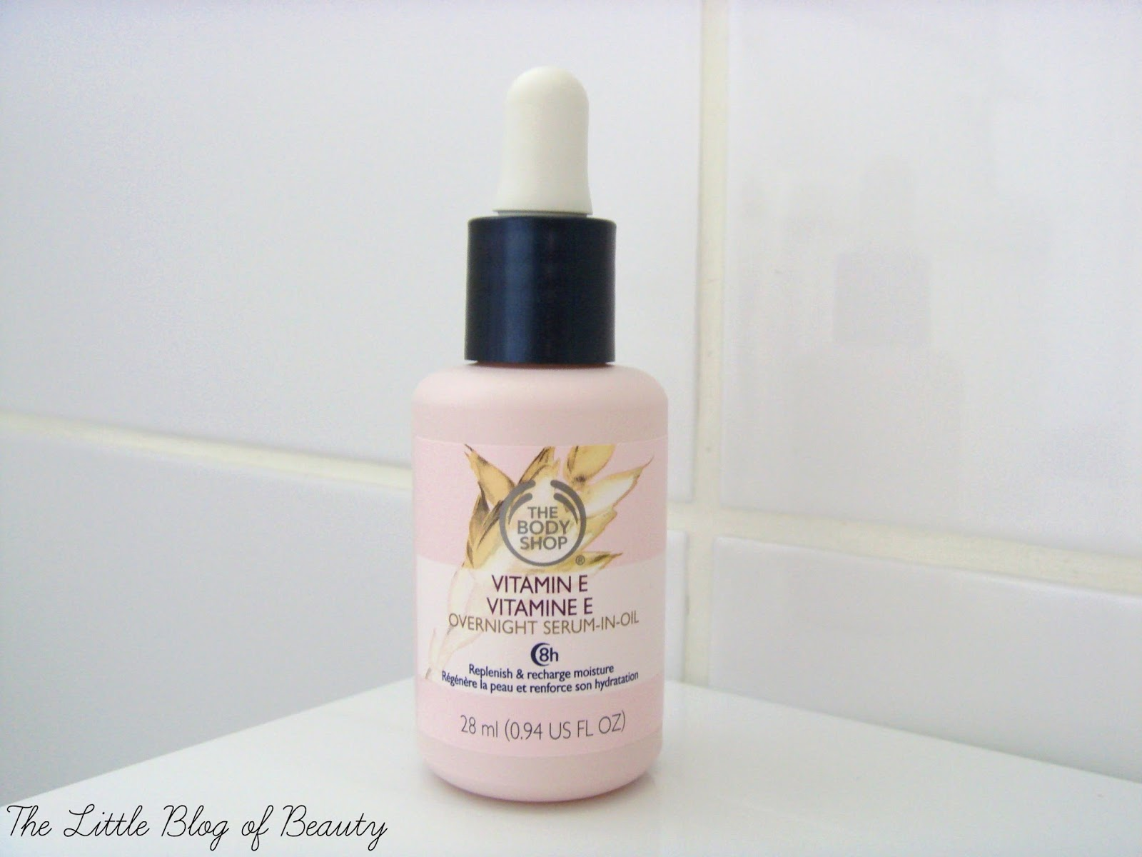 The Body Shop Vitamin E Overnight serum-in-oil