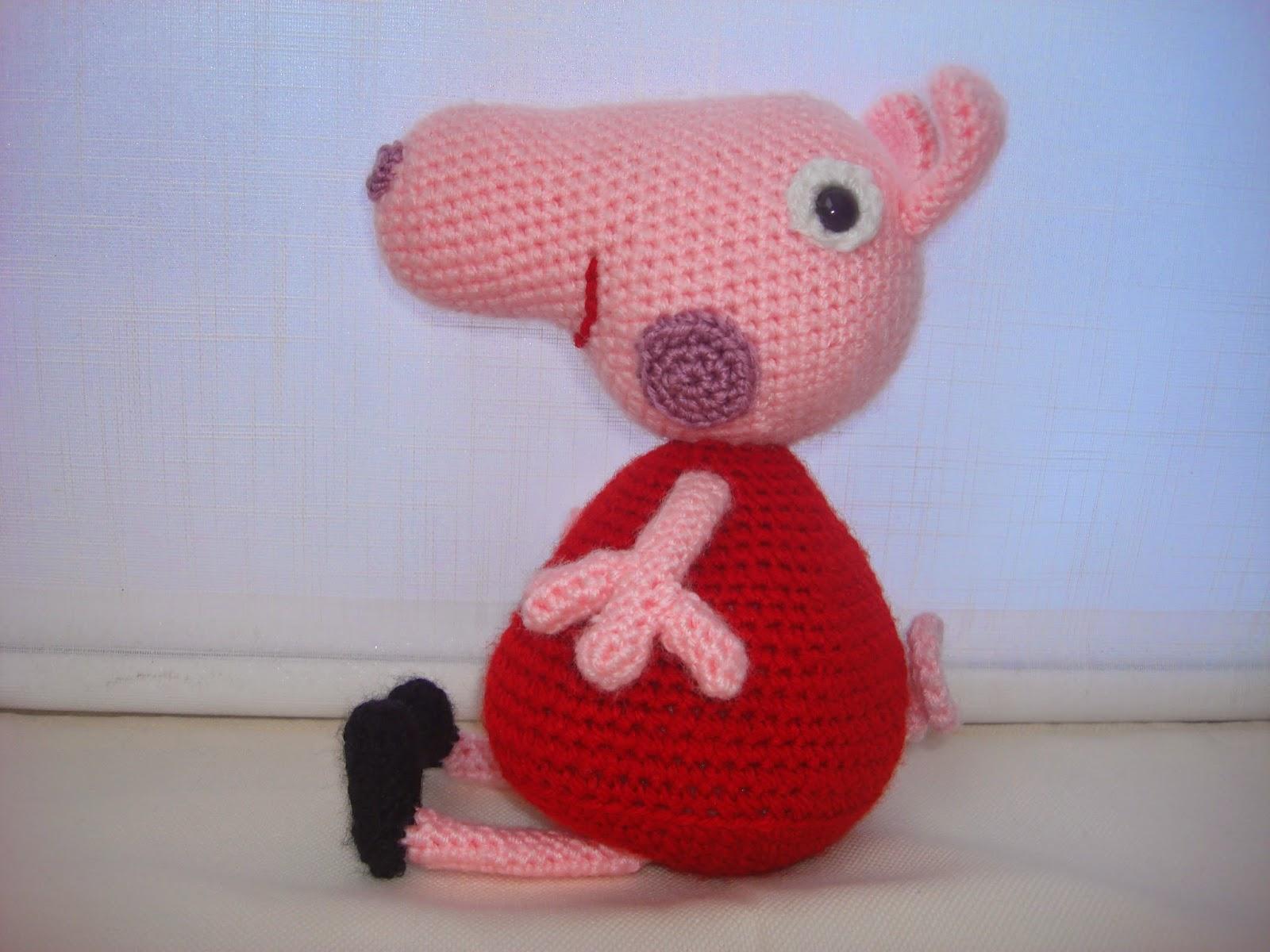 Amigurumi Peppa Pig Mini : CANAL CROCHET: peppa pig amigurumi