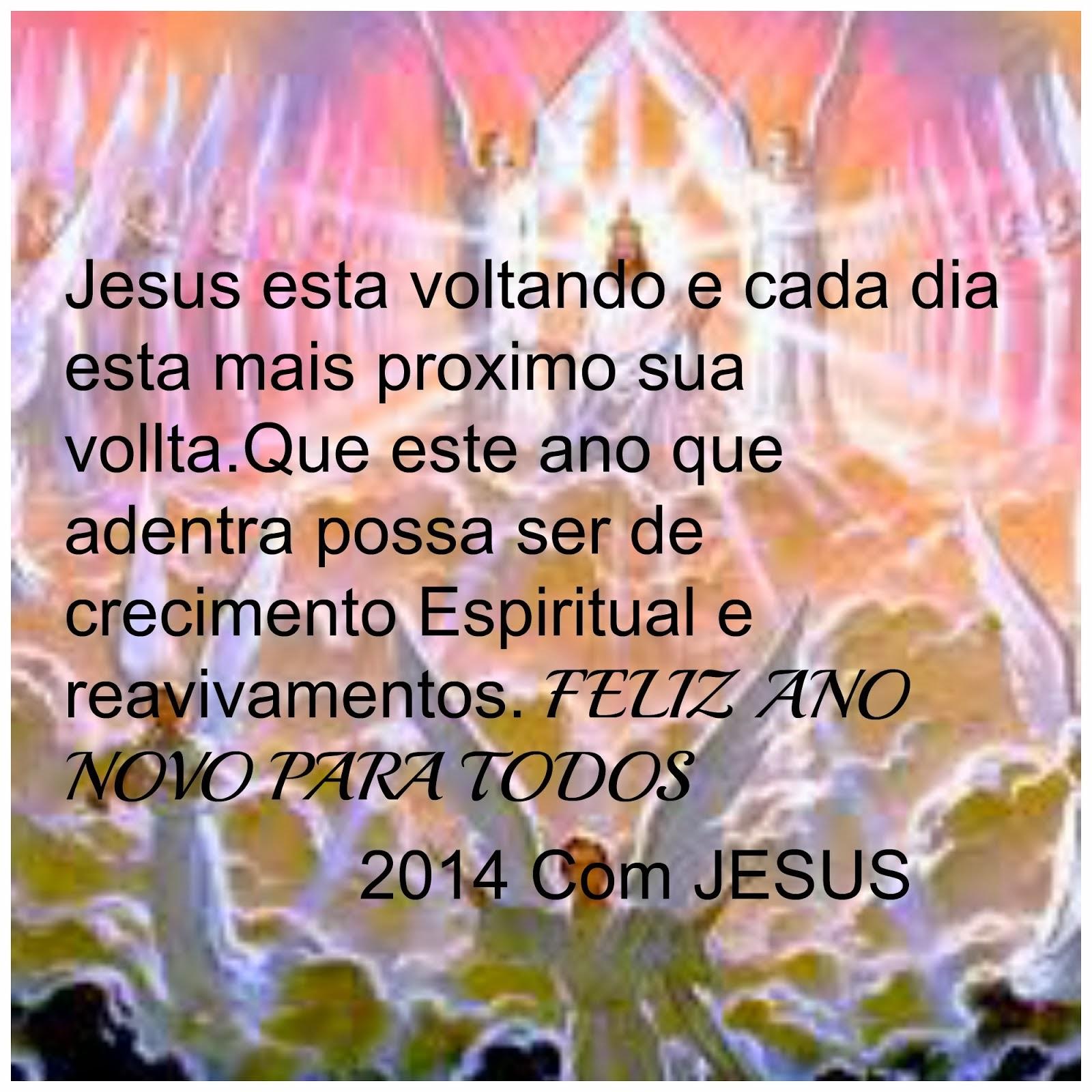 SUCESSO,FELICIDADES E MAIS A PROXIMIDADE COM JESUS.