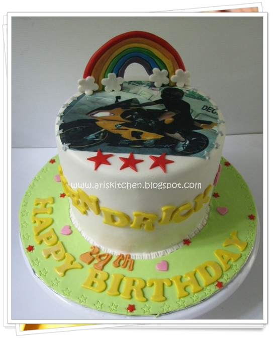 Rainbow Angel Birthday Cake Recipe — Dishmaps