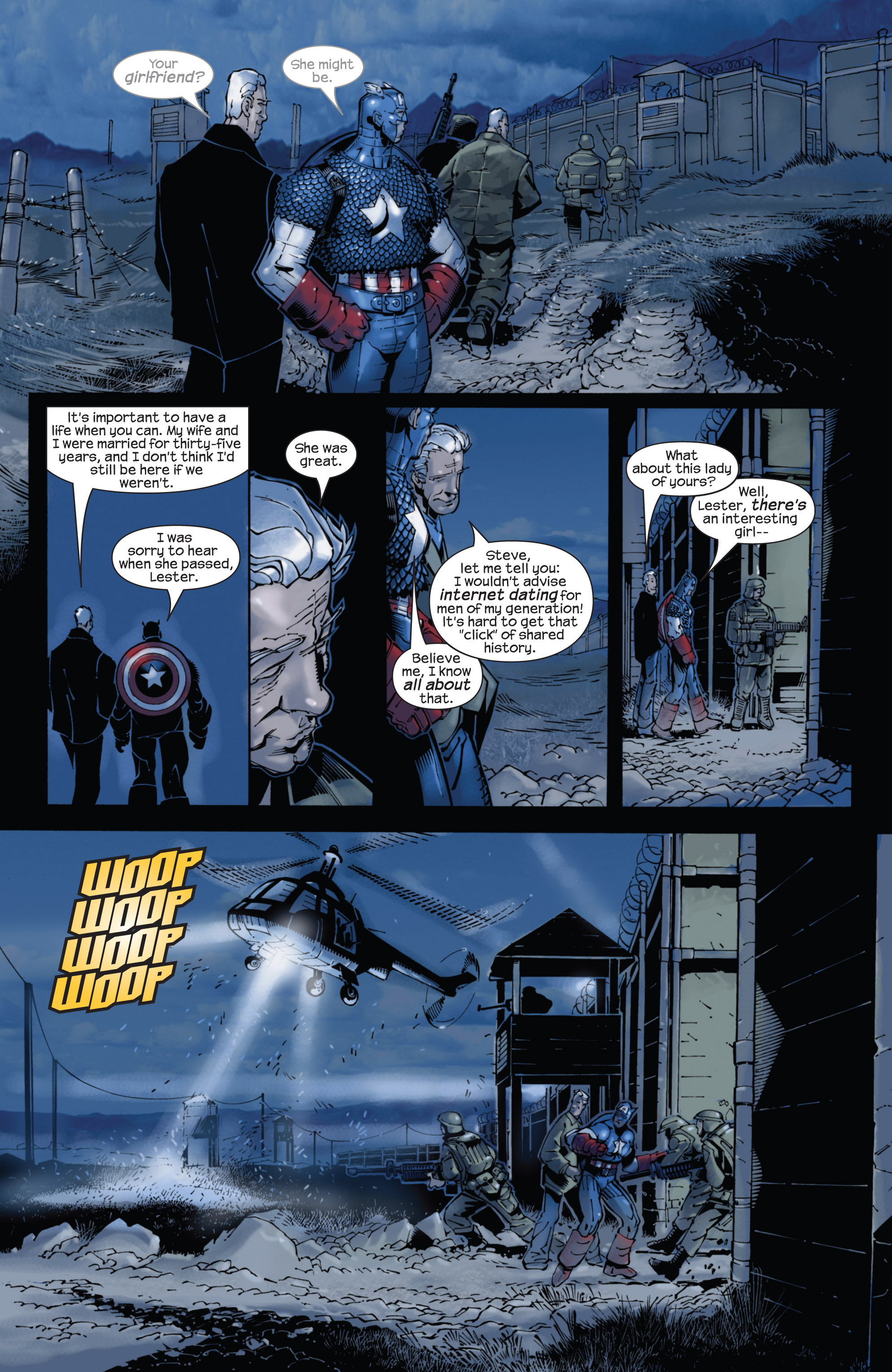 Captain America (2002) Issue #22 #23 - English 21