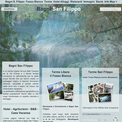 Bagni San Filippo: Un ottimo sito web su Bagni San Filippo