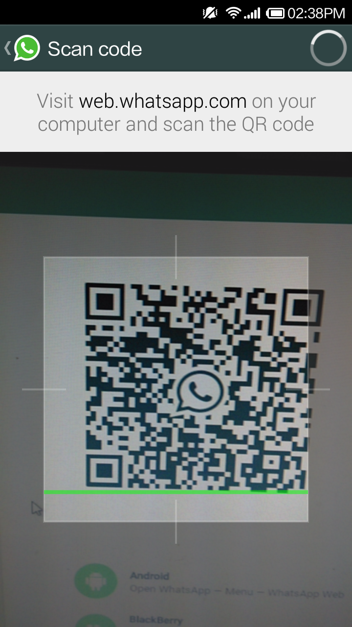 scan google chrome