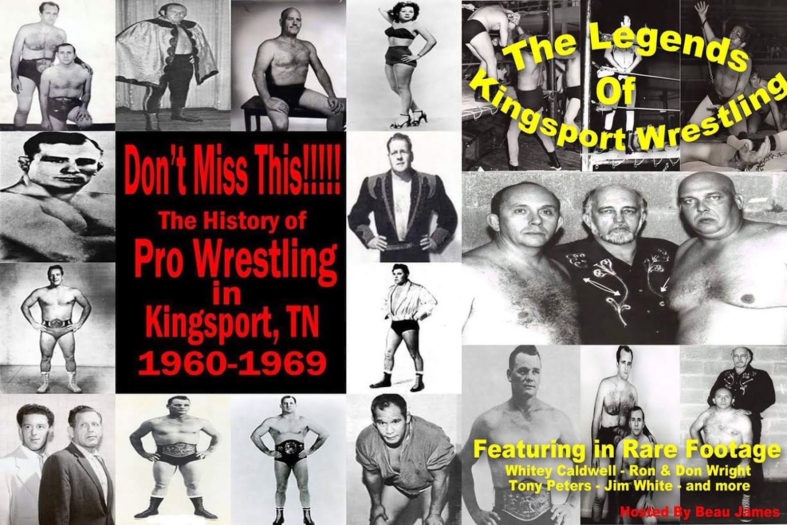 Don't Miss This!!! Legends of Kingsport DVD
